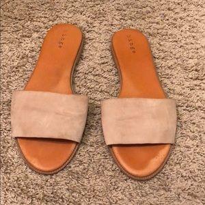 Shoes - Hinge Slide Sandals Size 9